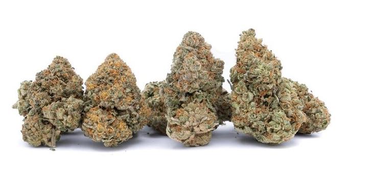 Dry Cannabis Flowers